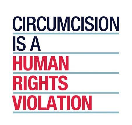 Circumcision human rights violation